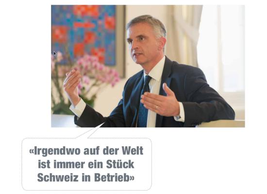 Didier Burkhalter sagt: