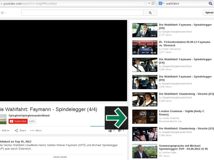 Bildschirmfoto, Youtube