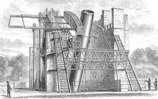 In Leviathan verbaute man einen 1,83 m großen Metallspiegel, der allein 3,8 Tonnen wog.
